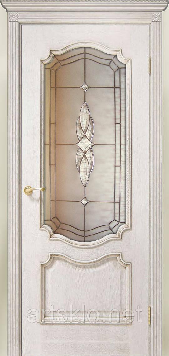Дверной витраж