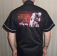 Термотрансфер логотипа на куртку