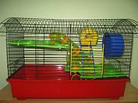"""Лори """"Биг -вагон -люкс"""" клетка для грызунов (61*39*40см)"""