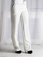 Женские брюки, цвет молоко, прямые Код:573537772