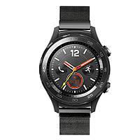 Миланский сетчатый ремешок Primo для часов Huawei Watch 2 - Black