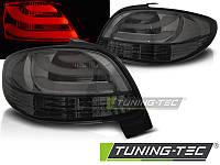Фонари задние тюнинг оптика стопы Peugeot 206 тонированные
