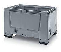 Пластиковые контейнеры 1200 х 800 х 790 пищевые, фото 1