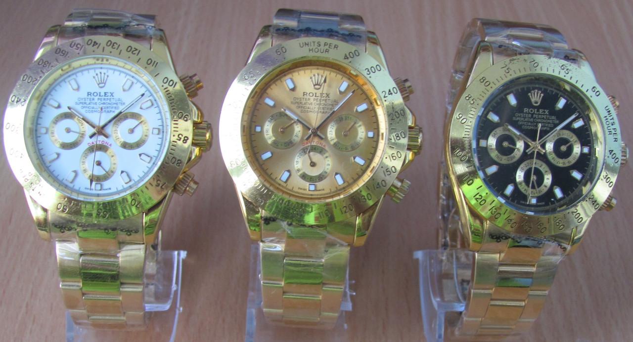 """Достойный аксессуар для мужчины наручные часы Rolex Daytonа. Хорошее качество. Доступная цена. Код: КГ2238 - Магазин """"http://www.goashop.com.ua/"""" в Киеве"""