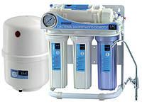 Система обратного осмоса для фильтрации питьевой воды  CAC-ZO-5P/G (Украина)