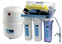 Система обратного осмоса для фильтрации питьевой воды  CAC-ZO-6P/M (Украина)