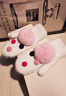 Варежки Очень тёплые ( внутри на подкладке )Ткань : ангора Цвет: серый,розовый ,малиновый. мдав №8812