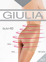 Корректирующие колготки капроновые _ 40 DEN Giulia Slim 067422 visone, фото 1