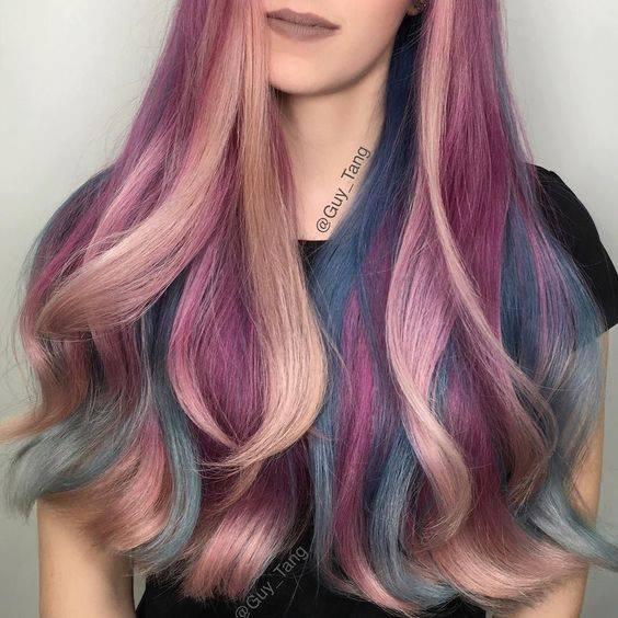 Тонирование волос и прямые красители