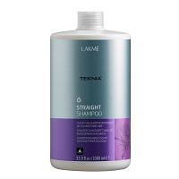 Разглаживающий шампунь Lakme Straight Shampoo 1000 ml
