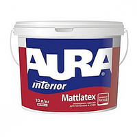 Інтер'єрна фарба Aura Mattlatex біла(база А) 10l