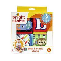 """Мягкие развивающие кубики """"Веселая наука"""" Bright Starts (52160)"""
