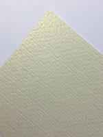 Дизайнерский картон (слоновая кость лен) 25х35
