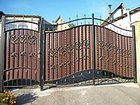 """Кованые ворота """"Престиж 1"""""""