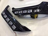 Карбоновые накладки переднего бампера Mercedes G-Сlass W463 (карбоновые клыки Brabus), фото 1