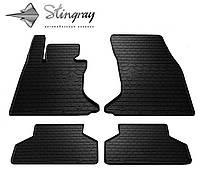 Комплект резиновых ковриков Stingray для автомобиля  BMW 5 e60 2003-2010   4шт.