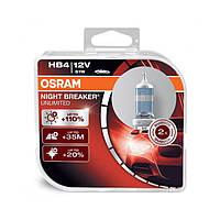 Галогенная лампа HB4 Osram Night Breaker Laser +130 Германия