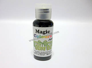 "Краситель гелевый 32 мл.""Olive Oil"" (оливковый) ТМ ""Magic Colours"""