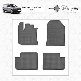 Коврики резиновые Dacia Renault Dokker 2012- Stingray 1004032