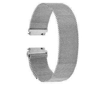 Миланский сетчатый ремешок Primo для часов Xiaomi Amazfit Bip/Amazfit Bip GTS/Amazfit Bip Lite - Silver
