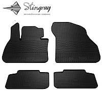 Комплект резиновых ковриков Stingray для автомобиля   BMW X1 (F48) 2015-    4 шт.