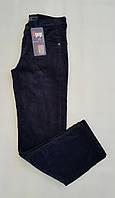 Вельветовые брюки A-yugi на флисе для мальчиков 116,122,128,134,140 роста Синие на флисе