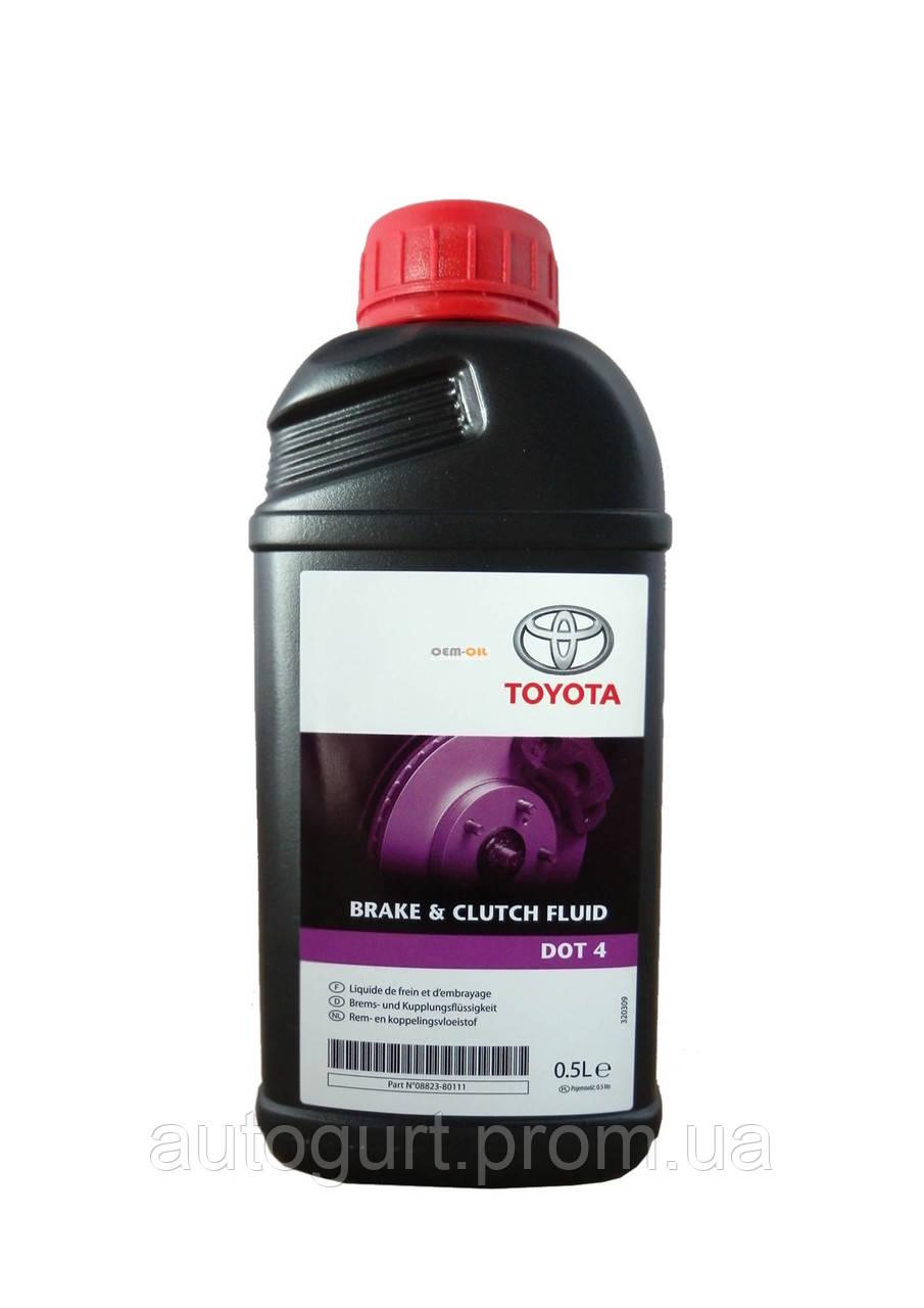 Toyota Brake & Clutch Fluid DOT 4 (0,5 л.)