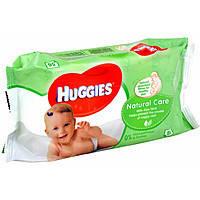 Влажные салфетки HUGGIES Natural Care 56шт
