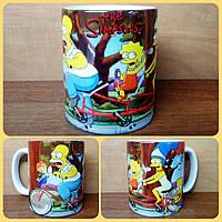 Кружка чашка Симсоны Simpsons 1