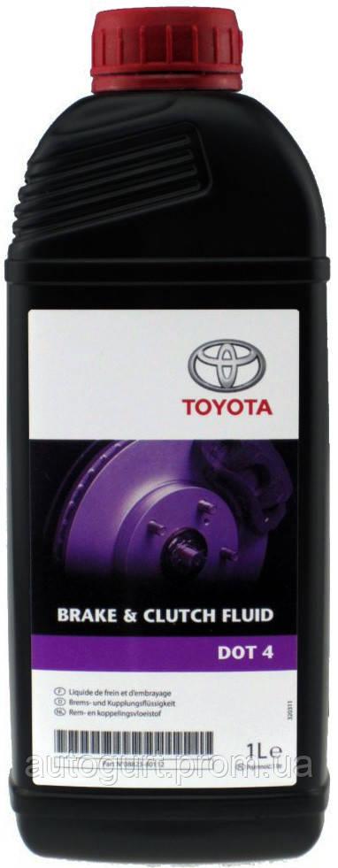 Toyota Brake & Clutch Fluid DOT 4 (1 л.)