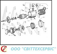 09 Трансмиссия электродвигатель тяговый