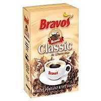 Кофе молотый Bravos classic 0.500 кг