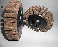Круг шлифовальный лепестковый (КШЛ) войлочный 150хМ14 на болгарку