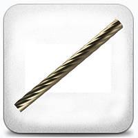 """Труба """"Твистер"""" д. 25 мм 1,6 м, хром/мат"""