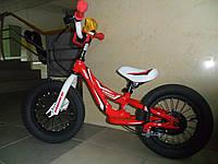 Беговел Mbike алюминиевый красный