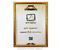 Фоторамка ,пластиковая, А4, 21х30, рамка , для фото, дипломов, сертификатов, грамот, картин, 1417-09
