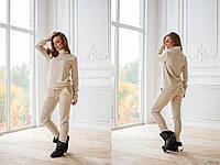 Ангоровый женский костюм с высоким горлом 775116
