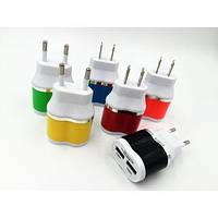 Адаптер зарядка 220V на 2 USB XKY-018 030