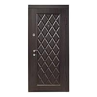 Двери входные ПО-89 венге структурный 960*2050 R (правая)