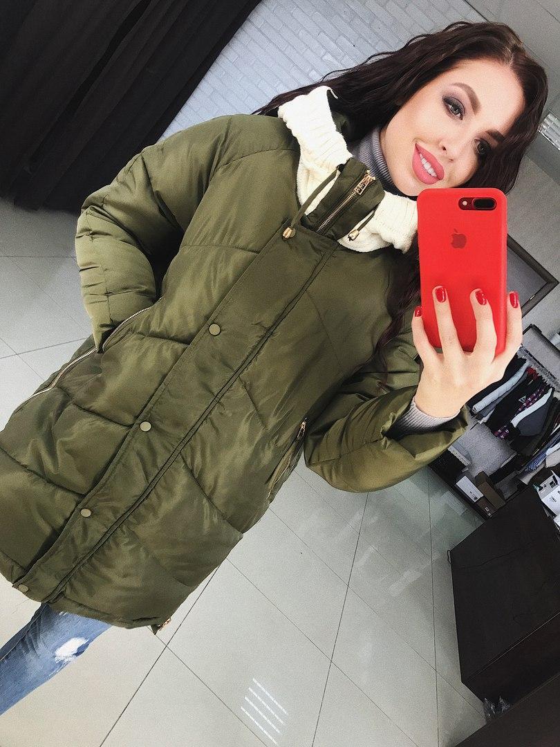 Куртка женская, очень теплая и модная