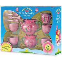 Игровой набор Melissa&Doug Детский чайный сервиз Бабочка Белла (MD6181)