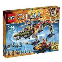 Пластиковый конструктор LEGO Chima Спасение короля Кроминуса (70227)
