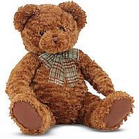 Мягкая игрушка Melissa&Doug Мишка плюшевый Каштанчик, 43 см (MD7746)