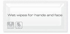 Влажные салфетки для рук/лица в саше ProService (400 шт/уп)