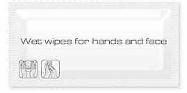 Влажные салфетки для рук/лица в саше ProService (600 шт/уп)