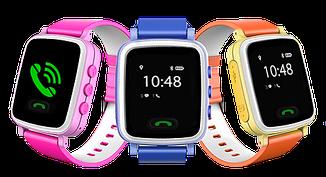 Детские часы с GPS Q80