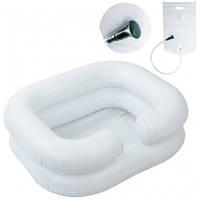 Надувная ванночка для мытья головы с резервуаром и лейкой OSD-F-1002