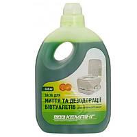 Жидкость для биотуалетов Кемпинг для дезодорации 0.8 л N11020039