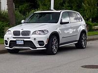 НАКЛАДКИ НА ПОРОГИ BMW X5 E70 LCI 2010-2013 В СТИЛЕ AERO20585