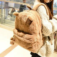 Рюкзак из искусственного меха